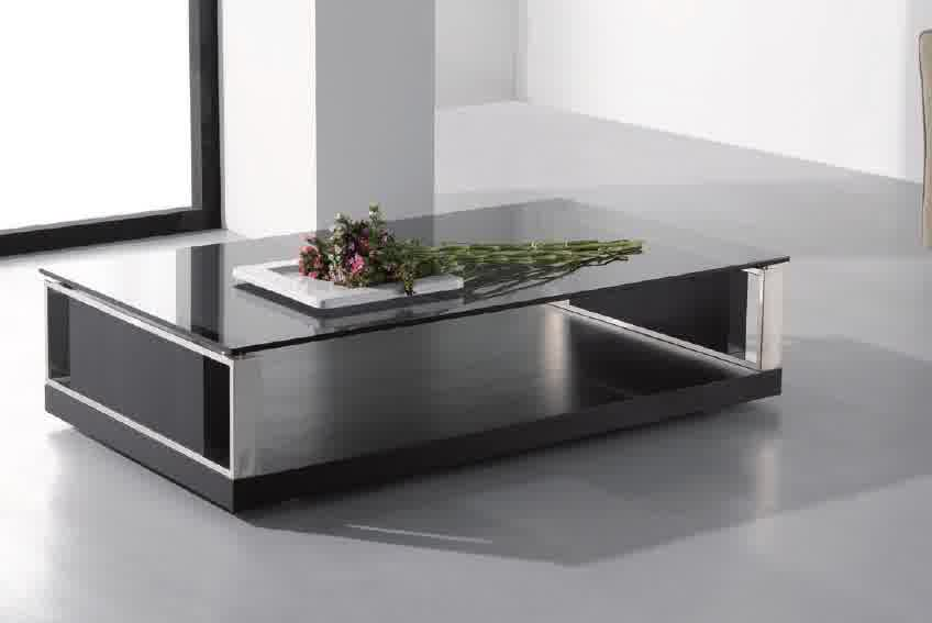 modres-Modern-wood-coffee-table-reclaimed-metal-mid-century-round-natural-diy-All-modern-coffee-table-black (Image 9 of 10)