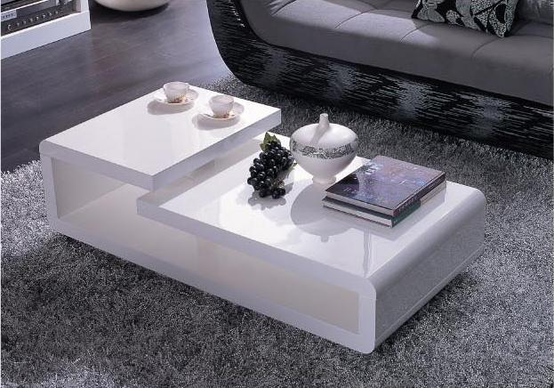 modrest-Modern-wood-coffee-table-reclaimed-metal-mid-century-round-natural-diy-modern-white-Coffee-tables (Image 9 of 10)