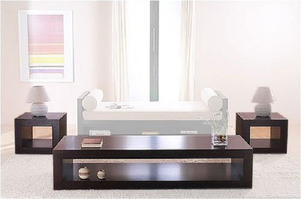 On Living Room Contemporary Coffee Table Set By Lifestyle Image Title Fiohl (Image 8 of 8)