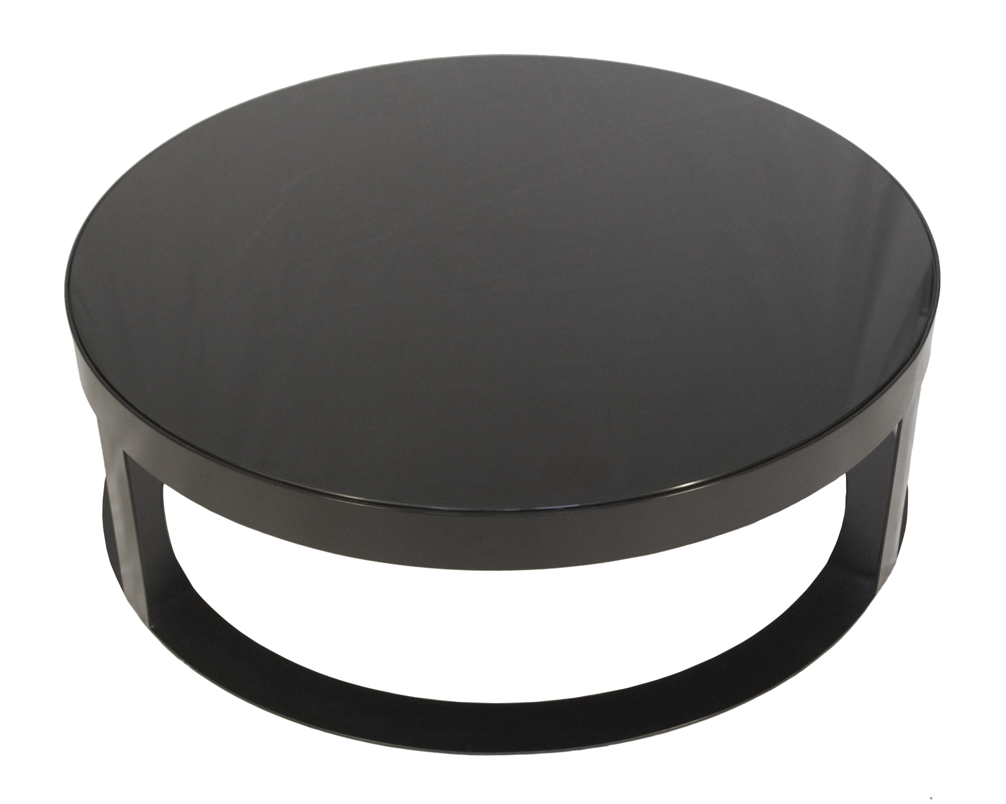 Other Gallery For Amazing Coffee Table With Using Round Metal Coffee Table Round Metal Coffee Table With Glass Round Black Glass Coffee Table (Image 7 of 10)