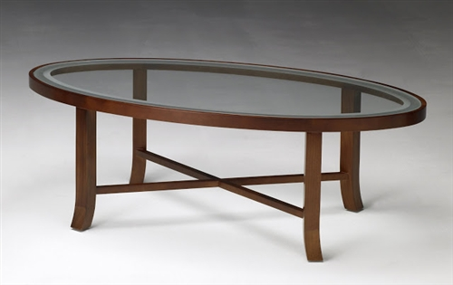 Oval Coffee Table Glass Top If You Desire More Of A Modern Contemporary Design While Staying Under 200 (Image 4 of 10)