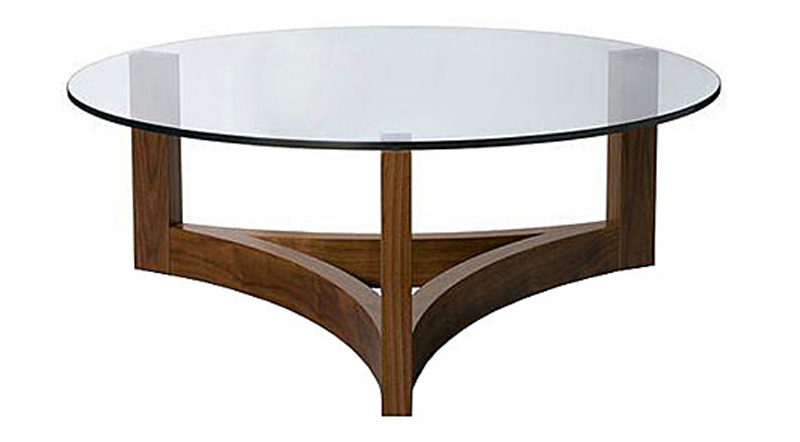10 Collection of Oval Glass Top Coffee Tables Contemporary