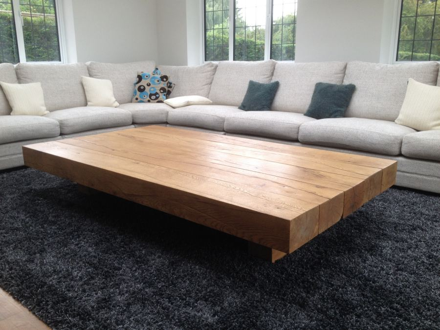 Photo Gallery Of The Extra Large Coffee Table Is A Greatidea For A Spacious Room Extra Large Round Coffee Table (View 9 of 10)