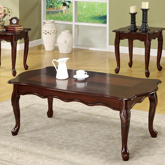 Queen Anne Coffee Table Set People Were Now Using Furnishings With A Look Of Grace That