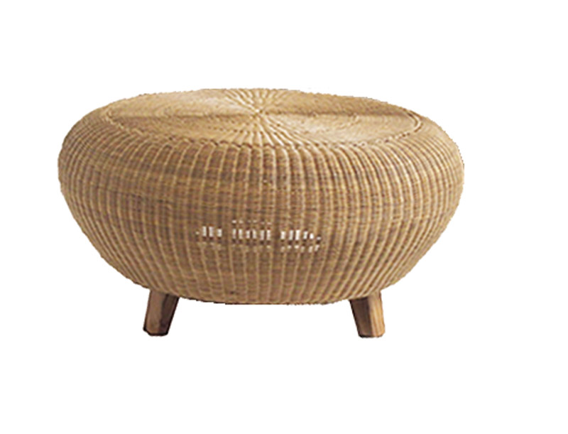 Rattan Coffee Table Round Rattan End Tables Bamboo Round Coffee Table Wicker Patio Furniture Round Wicker Table (Image 7 of 10)