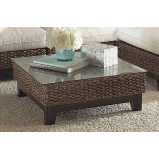 Replace Glass On Coffee Table Panama Jack Sanibel Coffee Table With Glass Vintage Design Tables Sets (View 8 of 10)