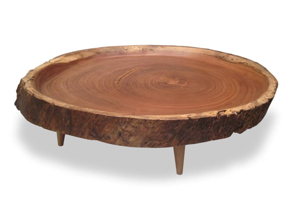 Rotsen Victoria Round Wood Slab Coffee Table 2016 Coffee Table Round Wood Round Wood Coffee Table Design Ideas And Photos (Image 7 of 10)