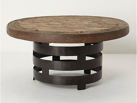 Rotunda Coffee Table Round Iron Coffee Table Iron And Glass Coffee Tables Used Wrought Iron Coffee Tables (Image 3 of 10)