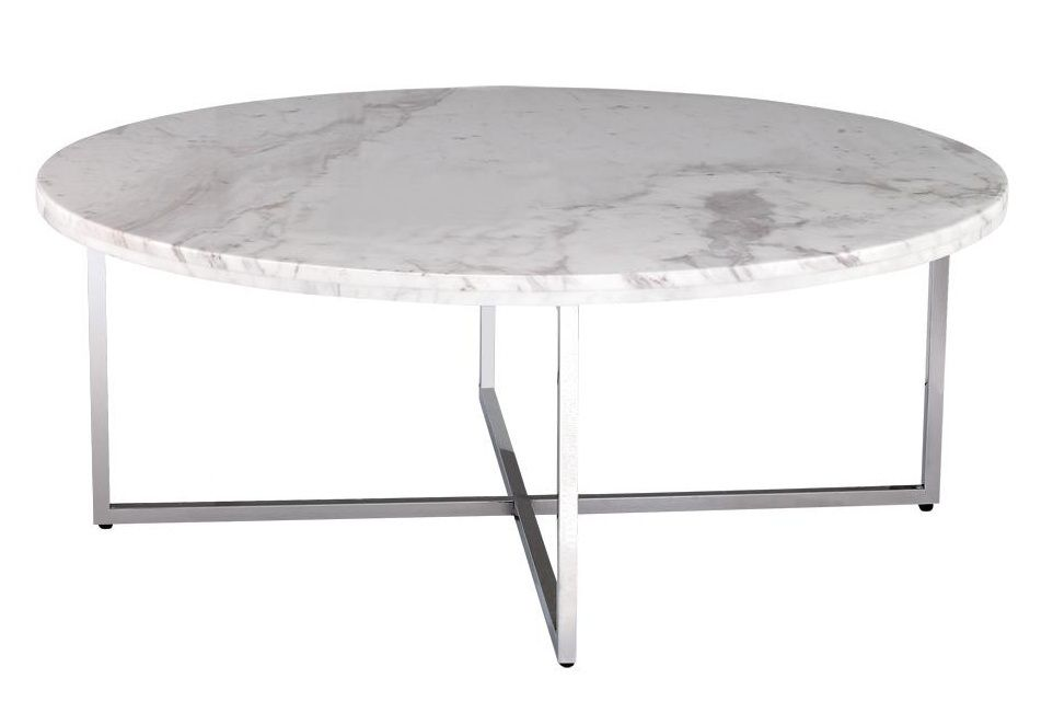 round-Marble-top-coffee-table-The-Various-Marble-Top-Coffee-Tables-Marble-Top-Coffee-Table-Round (Image 5 of 8)