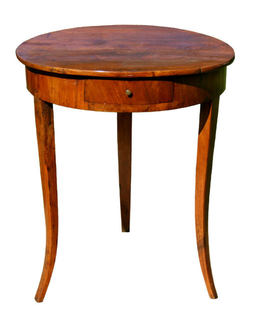 Round Antique Coffee Table Antique End Tables For Sale Vintage Round Coffee Table Antique French Round Cherry Side Table (View 8 of 10)