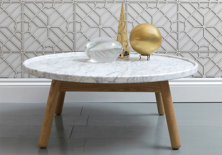 round-coffee-table-G-by-Bethan-Gray-Carve-round-coffee-table-on-flodeau-Marble-Top-Coffee-Table-Round (Image 3 of 8)