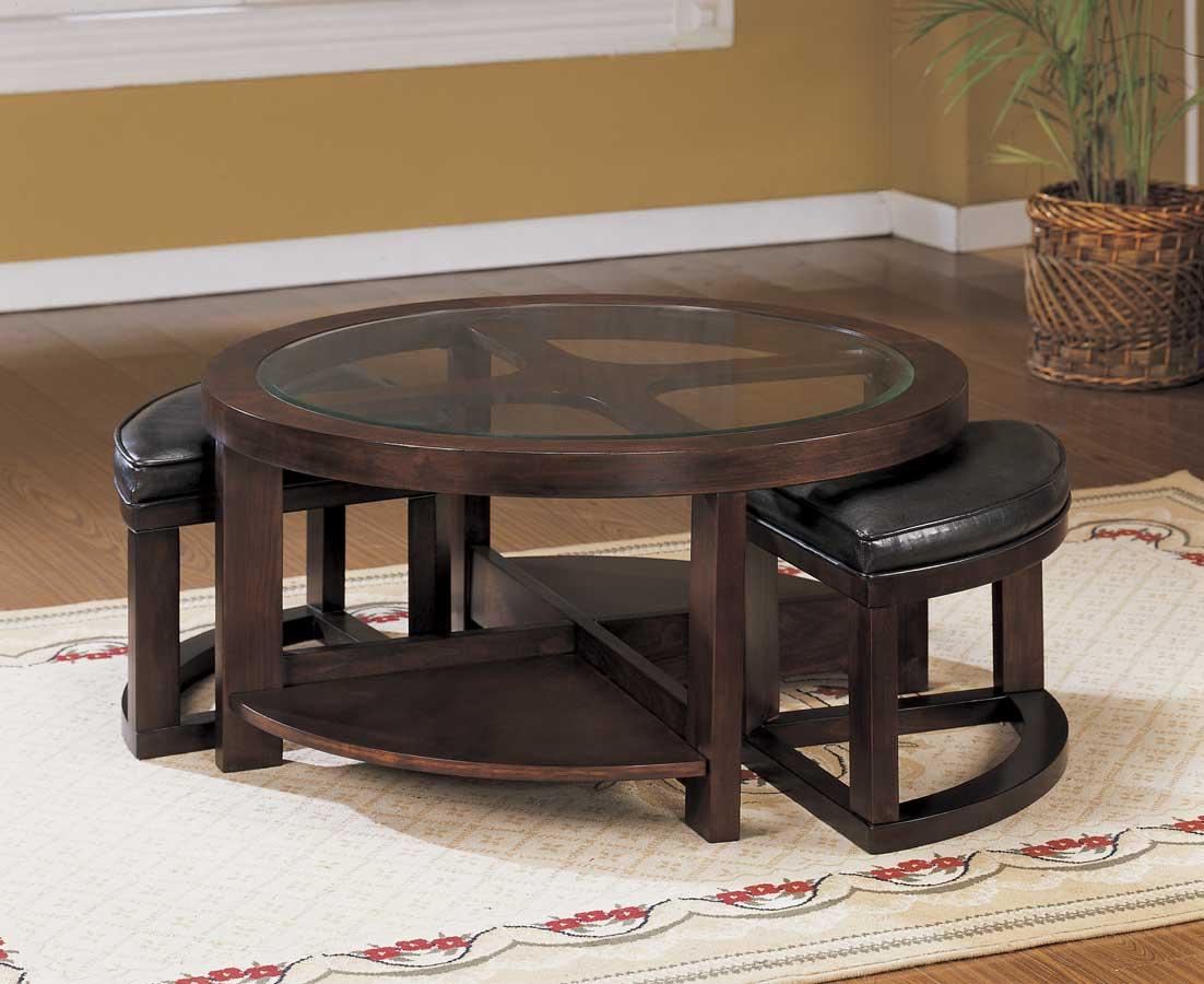 round-coffee-table-dark-wood-round-dark-wood-coffee-table-round-coffee-table-amazon-dark-wood-table-set (Image 4 of 10)
