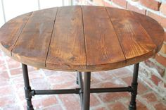 Round Coffee Table Industrial Wood Table 30inch X 20inch Reclaimed Wood Furniture Round Coffee Table Rustic (View 4 of 10)