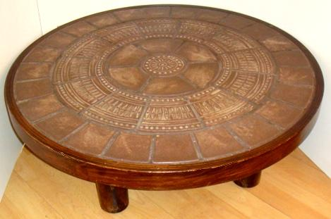 Round Coffee Table Large Round Coffee Table Large Square Coffee Tables Large Coffee Table Products Vintage Large Tufted Round Ottoman (Image 8 of 10)