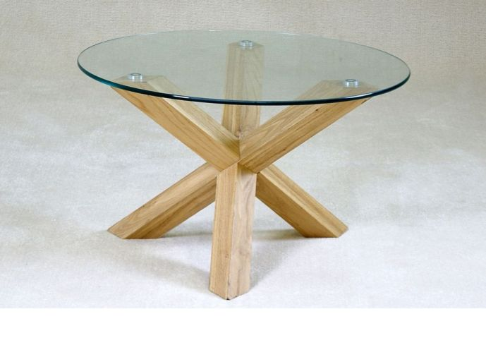 round-glass-and-wood-coffee-table-round-glass-coffee-table-wood-base-small-round-top-glass-wooden-legs-coffee-table-interior (Image 6 of 10)