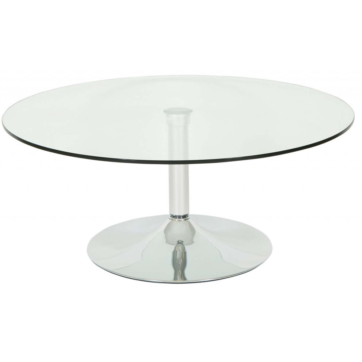 Round Glass Coffee Table Next Day Delivery Levv Roma Round Glass Large Round Glass Coffee Table Large Coffee Tables (Image 9 of 10)