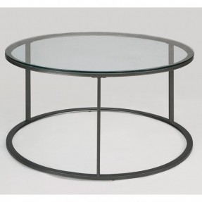 Round Glass Top Metal Coffee Table Modern Wood Coffee Table Reclaimed Metal Mid Century Round Natural Diy All Modern Coffee Tables Overstock (Image 10 of 10)