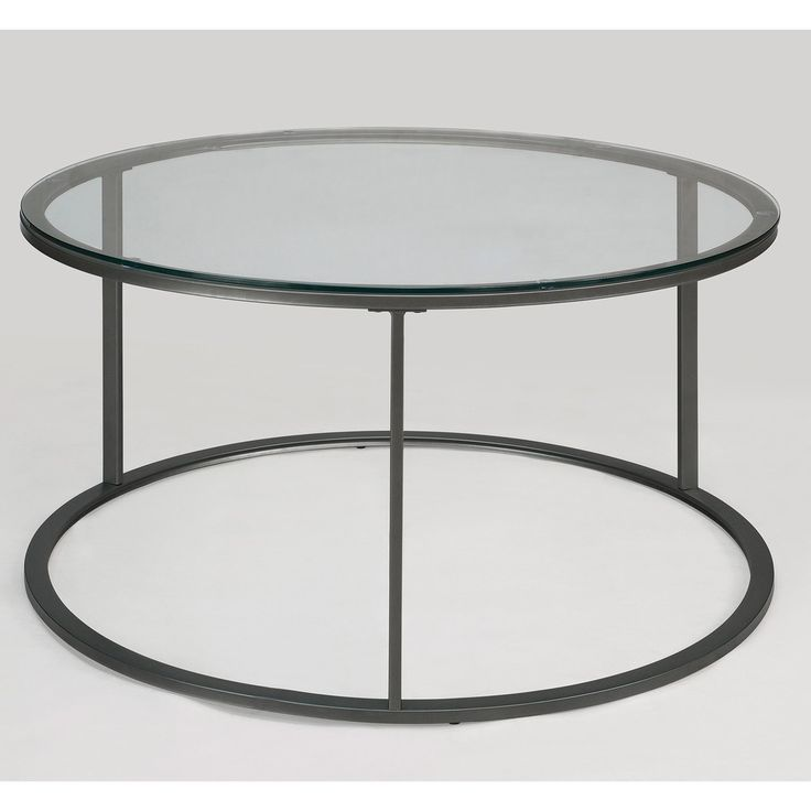 Round Glass Top Metal Coffee Table Round Glass And Metal Coffee Table The  Best Deals Furniture