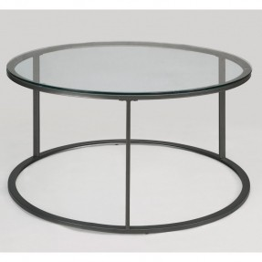 Round Glass Top Metal Coffee Table The Best Deals On Coffee Sofa Round Metal Coffee Table With Glass Top (Image 6 of 10)