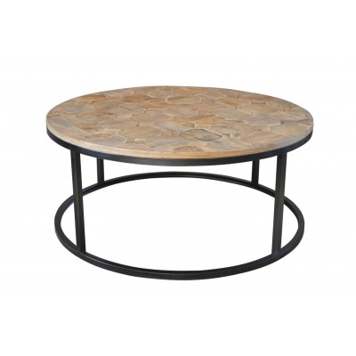Round Iron And Wood Coffee Table Round Iron Coffee Table Iron Scroll Coffee Table Wrought Iron Coffee Table (Image 4 of 10)
