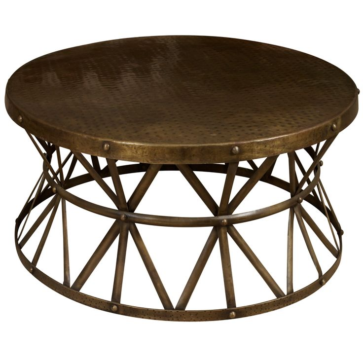 Round Metal Coffee Table Ideas Round Metal Coffee Tables Metal End Tables Large Stainless Steel Round Coffee Table (Image 4 of 10)
