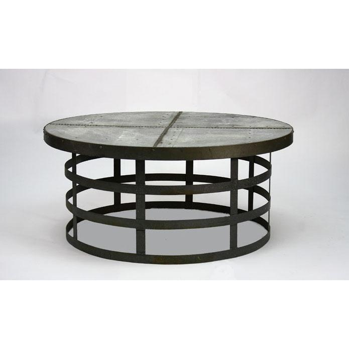 Round Metal Coffee Table Ideas Round Metal Coffee Tables Round Metal Glass Coffee Tables Metal Coffee Tables (Image 5 of 10)