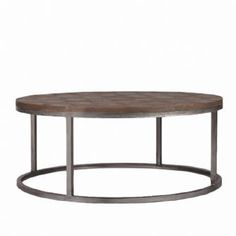 Round Metal Coffee Table Round Iron Coffee Table Black Wrought Iron Coffee Table Wood And Iron Coffee Table (Image 8 of 10)