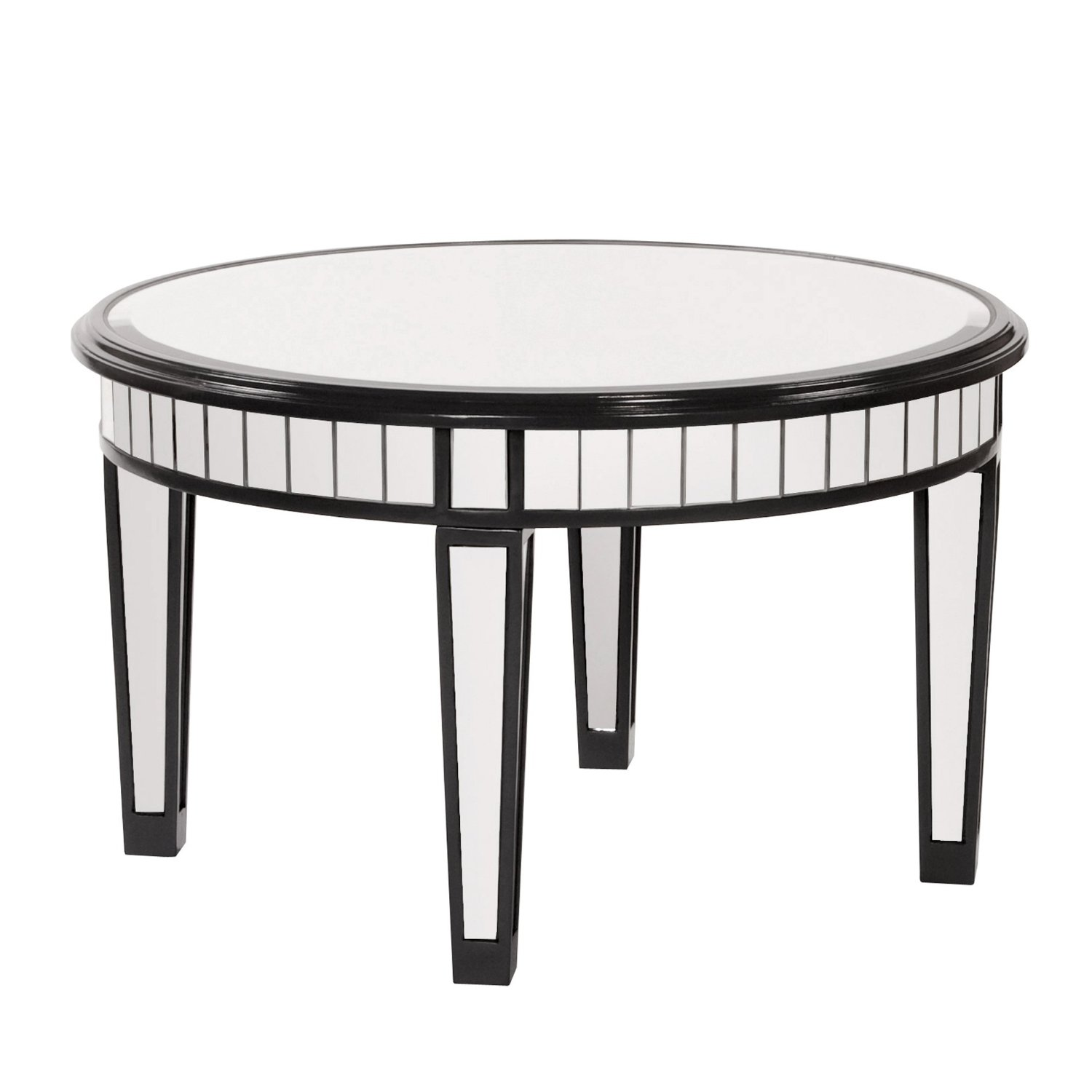 Round Mirrored Coffee Table Circle Mirrored Coffee Table Table Designs Amazon Mirrored Coffee Table Mirrored Coffee Table Sets (View 6 of 10)