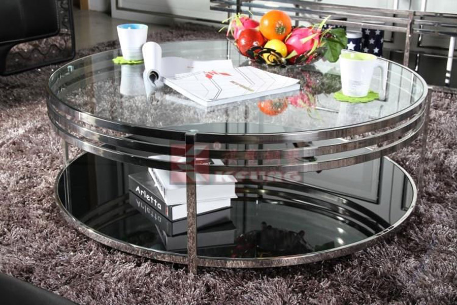 Round Mirrored Coffee Table Oval Mirrored Coffee Table Mirror Glass Coffee Table Mirrored Square Coffee Table (Image 7 of 10)