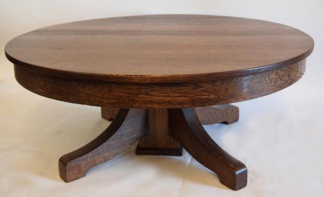 round-oak-coffee-table-Round-Oak-Coffee-Table-round-oak-coffee-table (Image 6 of 10)