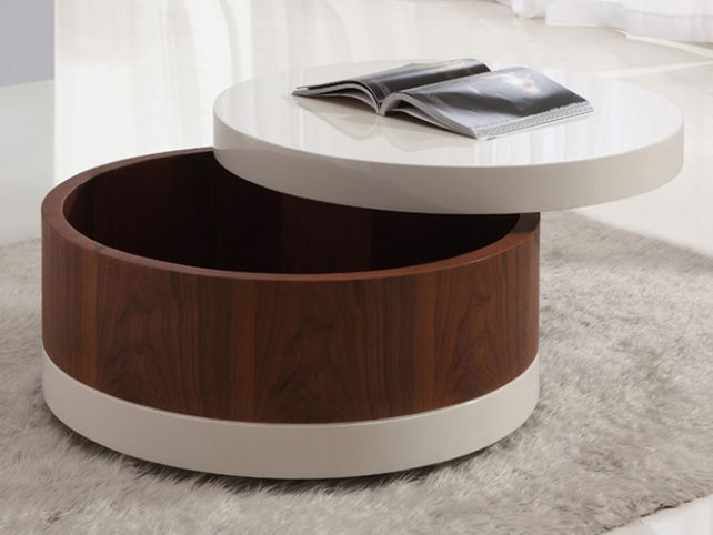round-storage-coffee-tables-round-coffee-table-with-storage-underneath-round-ottoman-coffee-tables (Image 5 of 10)