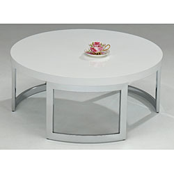 Round White Coffee Table As Ottoman Coffee Table For Refinishing Table Of Inspiration Coffee Table Humidor Round White Coffee Tables (Image 3 of 10)