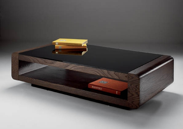 rounded-edge-coffee-table-high-tech-open-table-with-black-top-great-for-modern-designed-living-room-this-table-is-made-from-plain-wood-with-rounded-corners (Image 5 of 10)