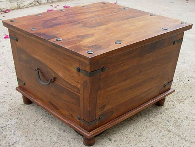 Rustic Coffee Table Design Plans Rustic Coffee Table With Wheels Rustic Coffee Table With Storage (View 5 of 10)