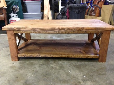 Rustic Coffee Table Plans On Dealer Resmi Photos Square Coffee Table Ideas Free (Image 5 of 10)