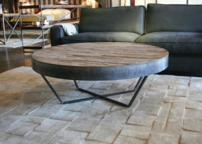 rustic-round-coffee-table-this-handmade-round-coffee-table-is-constructed-from-reclaimed-wood-salvaged-from-an-old-alabama-whiskey-factory (Image 7 of 10)