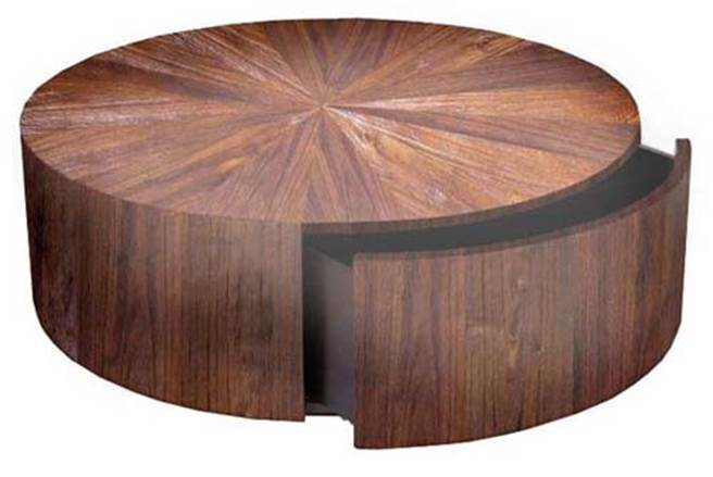rustic-round-table-round-end-table-rustic-round-coffee-table-rustic-coffee-and-cocktail-tables-for-sale (Image 8 of 10)