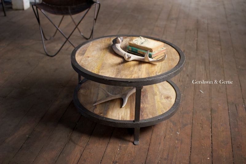rustic-wood-and-railroad-iron-round-coffee-table-rustic-round-coffee-table-small-rustic-coffee-tables-coffee-table-with-storage (Image 9 of 10)