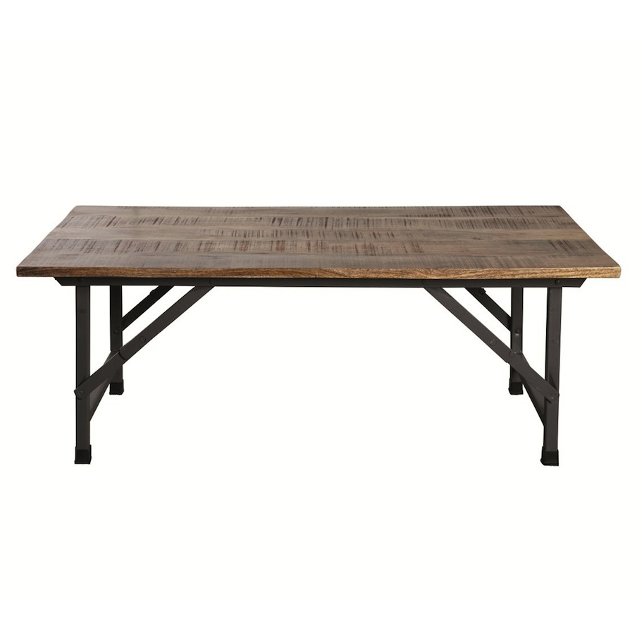 Rustic Wood Iron Coffee Table Exciting Wood And Iron Coffee Table Rustic Wood And Iron Coffee Table (Image 8 of 10)