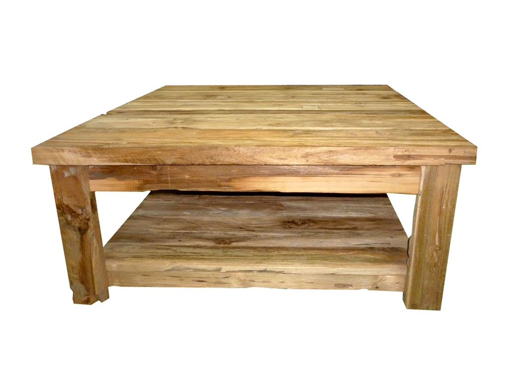 Rustic Wooden Square Coffee Table Appalachian Rustic Teak Hinged Top Coffee Table Chest Traditional Coffee Tables (View 7 of 10)