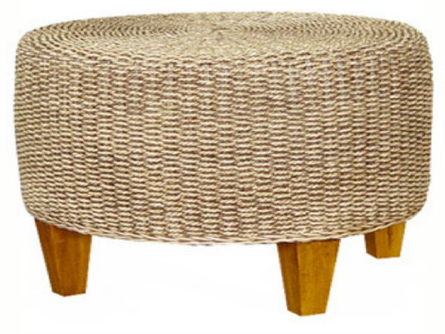 Seagrass Coffee Table Round Seagrass Round Coffee Table 36 Inch Seagrass Coffee Table Handwoven Of Natural Seagrass (Image 5 of 10)