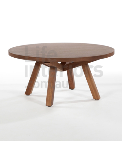 Sean Dix Forte Round Coffee Table 90 X 120 Cm Coffee Table Collection Round Timber Coffee Table (Image 8 of 10)