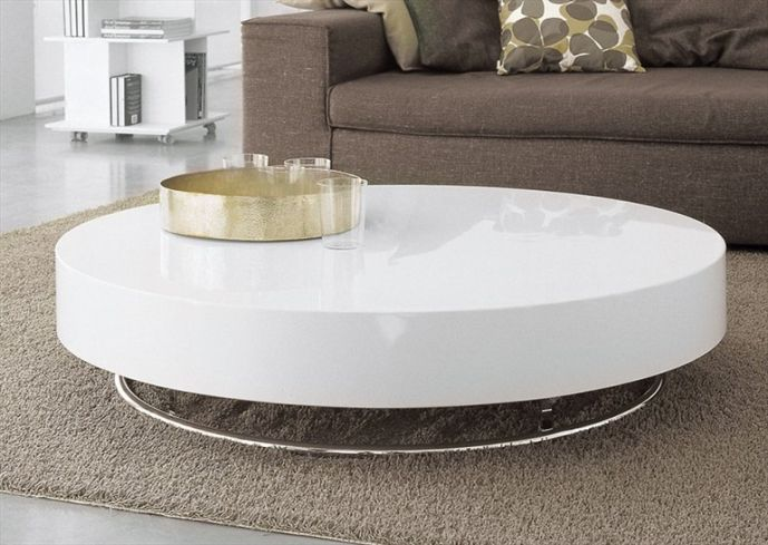 Several Tips To Pick The Right Glass Coffee Table White Wood Round Coffee Table White Round Coffee Table Awesome Design (View 5 of 10)