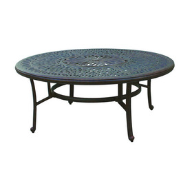 Shop Darlee Elisabeth Tables Aluminum Round Patio Coffee Table Round Patio Coffee Table Small Round Patio Coffee Table (View 8 of 10)