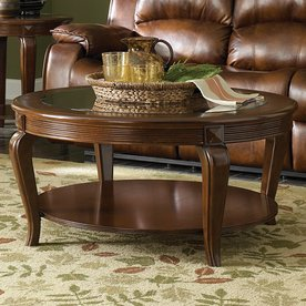 Shop Homelegance Schiffer Cherry Round Coffee Table Cherry Round Coffee Table Round Cherry Wood Table (View 5 of 10)