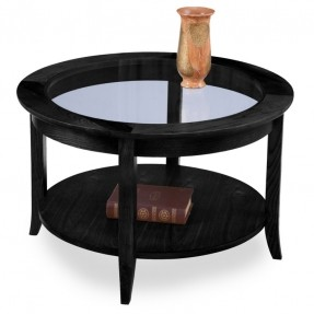 Slate Black Round Coffee Table Overstock Tm Shopping Great Deals On Kd Furnishings Coffee Sofa End Tables (View 10 of 10)