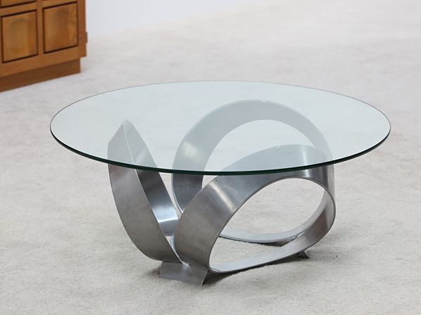 Beautiful Small Glass Coffee Table Modern Black Round Glass Coffee Table Design  Contemporary Living Room Furniture Design