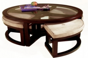 Small Round Ottoman Coffee Table Ottoman Furniture Pieces Are Wonderful For Their Utility Very Functional Coffee Table And Storage Ottoman (View 7 of 10)