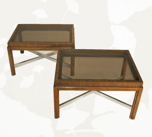 Smoked Glass Coffee Tables I Love The Natural Patina And The Industrial Look It Also Adds A Great Pop Of Color To A Living (View 4 of 10)