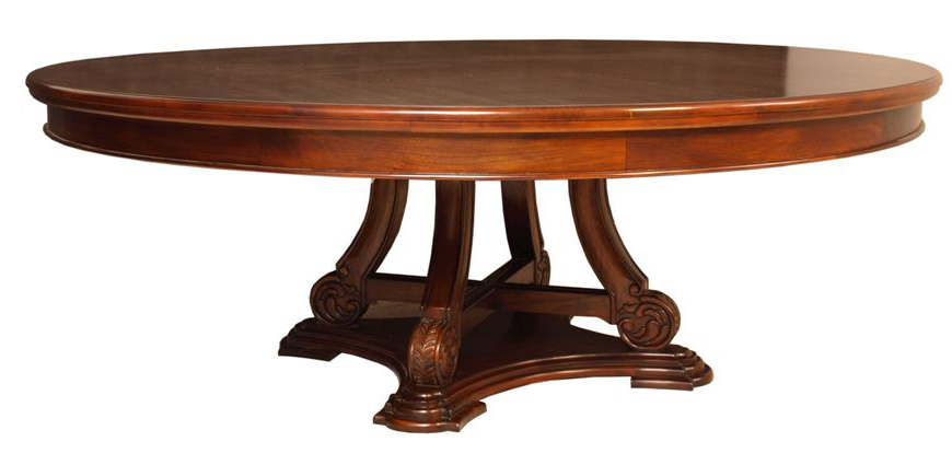 solid-wood-and-mahogany-furniture-vintage-mahogany-coffee-table-wood-round-mahogany-coffee-table (Image 9 of 10)